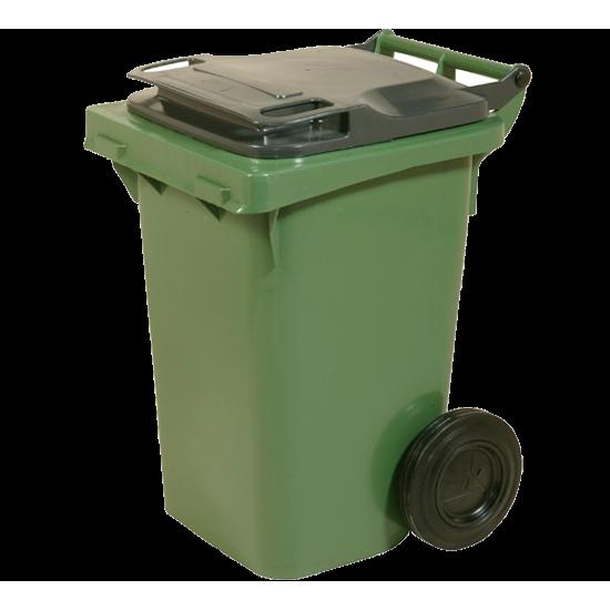 Пластмасова кофа на колела, 60 литра