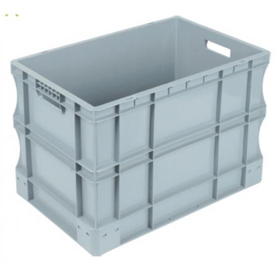 Пластмасова плътна каса 600х400х435 мм