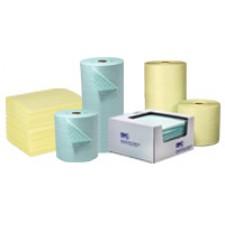 Сорбентни кърпи и ролки за химически продукти