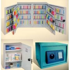 Аптечки, сейфове и ключове